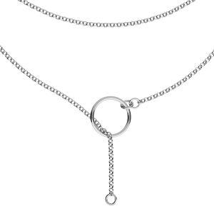 Collana base, argento 925, S-CHAIN 31 (ROLO 035)