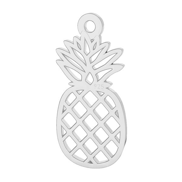 Ananas pendente argento, LK-2114 - 0,50