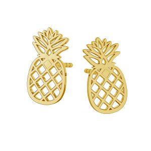 Ananas orecchini, argento 925, LKM-2115 KLS - 0,50