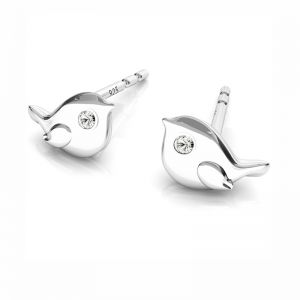 Ape orecchini, argento 925, ODL-00507 KLS