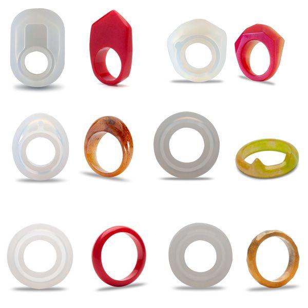 Stampo in silicone per anello, SRM 001