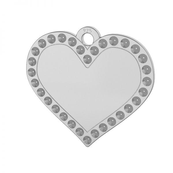 Cuore pendente argento 925, LKM-2139 - 0,80 (1028 PP 4)