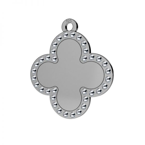 Trifoglio pendente argento 925, LKM-2134 - 0,80 ver.2