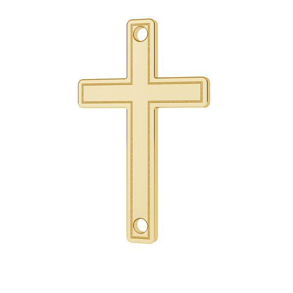 Crocifisso pendente oro 14K LKZ-00028 - 0,30 mm