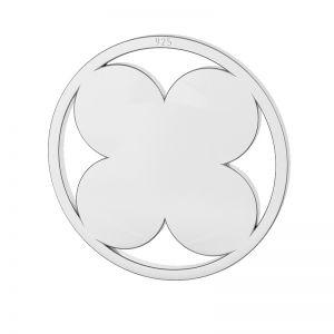 Quadrifoglio pendente, argento 925, LKM-2127