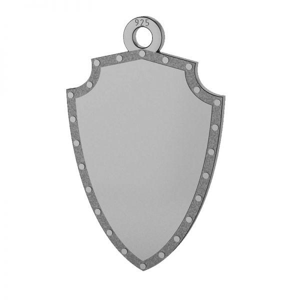 Scudo pendente, argento 925, LKM-2131
