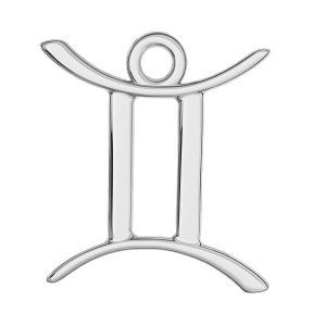 Gemelli pendente zodiaco, argento 925, ODL-00570