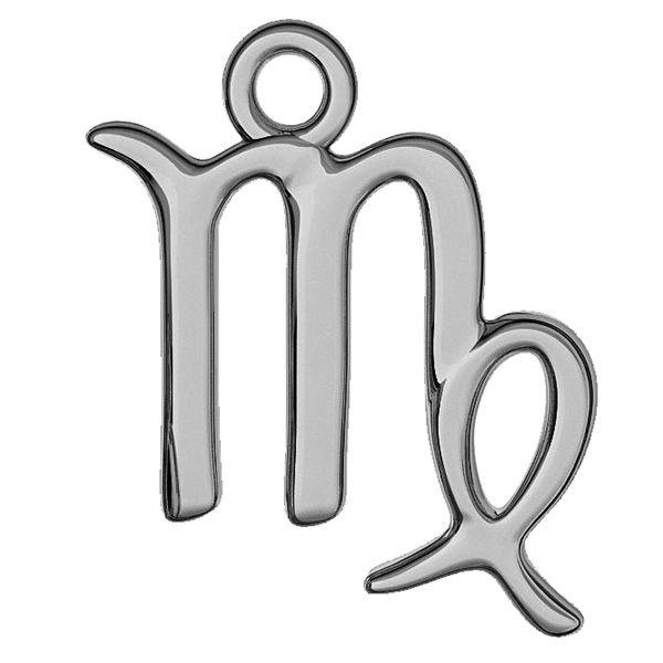Vergine pendente zodiaco, argento 925, ODL-00537