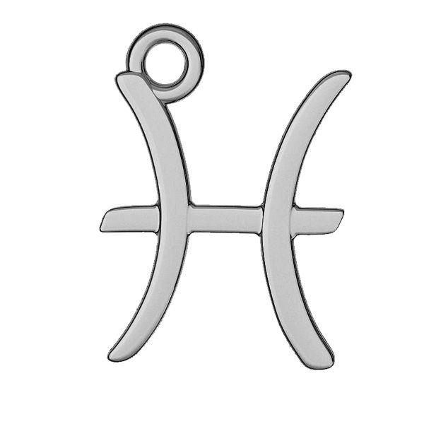 Pesci pendente zodiaco, argento 925, ODL-00528