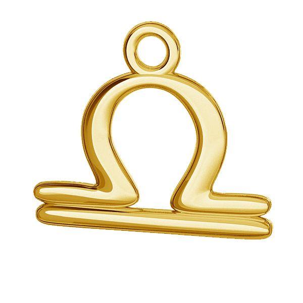 Libra pendente zodiaco, argento 925, ODL-00529