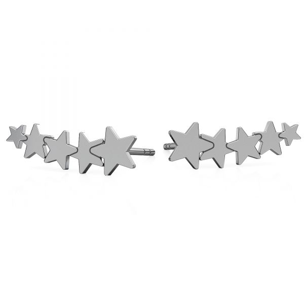 Stella orecchini, argento 925, LKM-2177 KLS - 0,50