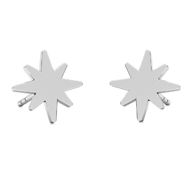 Stella orecchini, argento 925, LKM-2239 KLS - 0,50