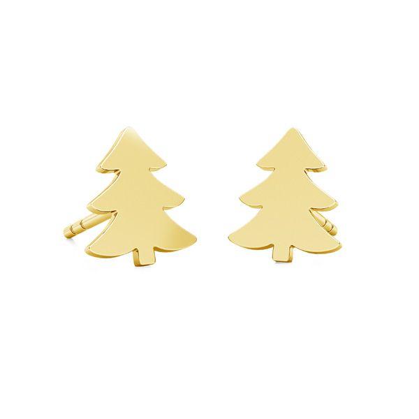 Albero di Natale orecchini LK-1057 - 0,50