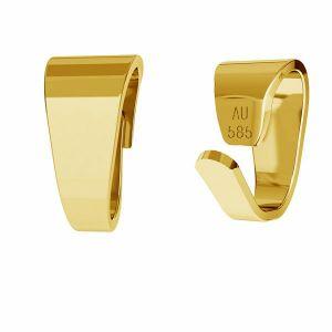 Contromaglia di oro 14K LKZ-50008 - 03