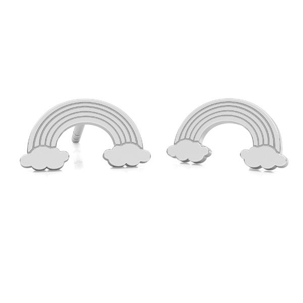 Arcobaleno orecchini, argento 925, LK-2261 KLS - 0,50