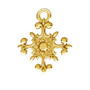 Crocifisso pendente, argento 925, ODL-00599