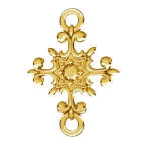 Crocifisso pendente, argento 925, ODL-00600