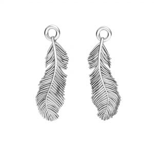 Piuma pendente, argento 925, ODL-00622