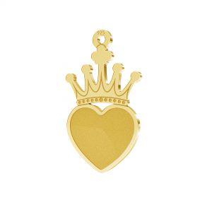 Corona pendente argento 925, LKM-2330 - 0,50