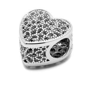 Perle di cuore - distanziatore*argento 925*BDS-00002