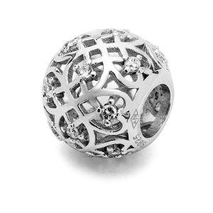 Perle tonde - distanziatore*argento 925*BDS-00003