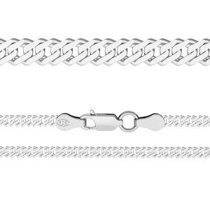 Catena Rombo*argento 925*RD 100 6L (38 cm)