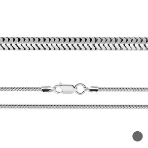 Catena Snake CSTD*argento 925*CSTD 2,4 (34 cm)