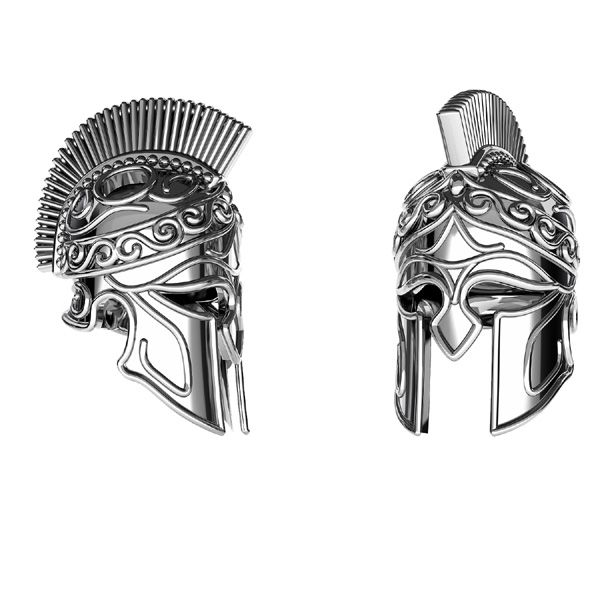 Ciondolo casco spartano*argento 925*ODL-00646