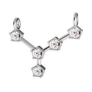 Cancro pendente zodiaco*argento 925*ODL-00651