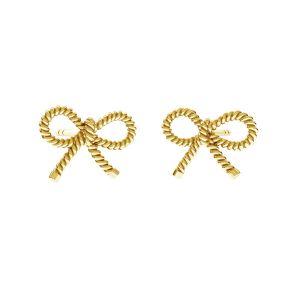 Orecchini a perno arco*argento 925*ODL-00676 KLS 7,8x10,8 mm