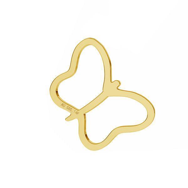 Farfalla pendente *oro AU 585 14K*LKZ-50015 - 03