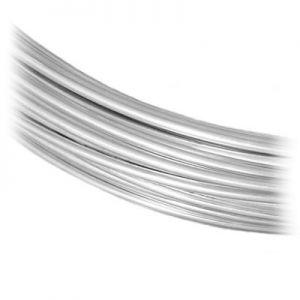 Filo di gioielli SILVER WIRE-H 1,2 mm