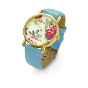 TURQUISE FLOWER WATCH, MODEL 464