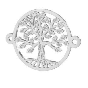 Alberox pendente argento, LKM-2514 - 0,50 15x19,6 mm