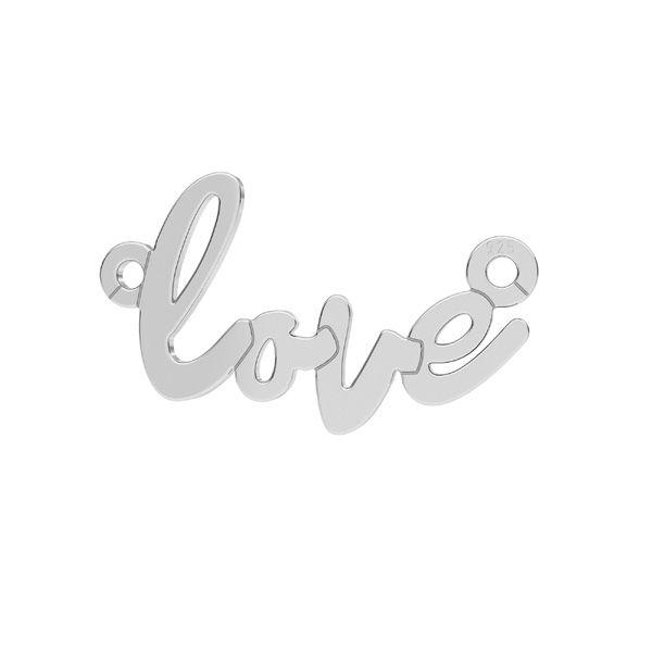 Love pendente*argento 925*LKM-2397 - 0,50 10x18,7 mm