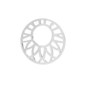 Openwork pendente argento 925, LKM-2289 - 0,50 20x20 mm