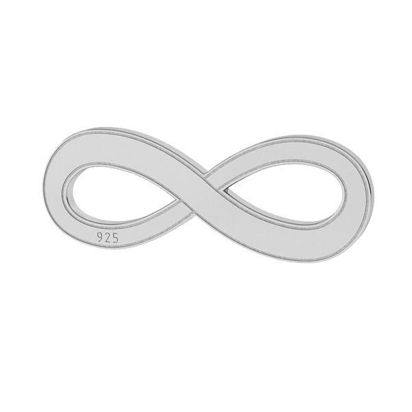 Segno di infinito pendente argento 925, LKM-2021