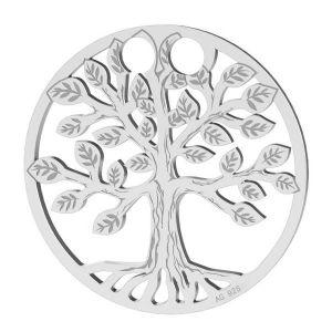 Albero della vita pendente argento 925, LKM-2028