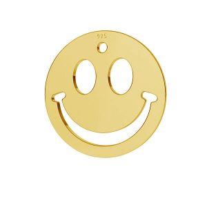 Sorriso emoticon pendente argento 925, LKM-2025