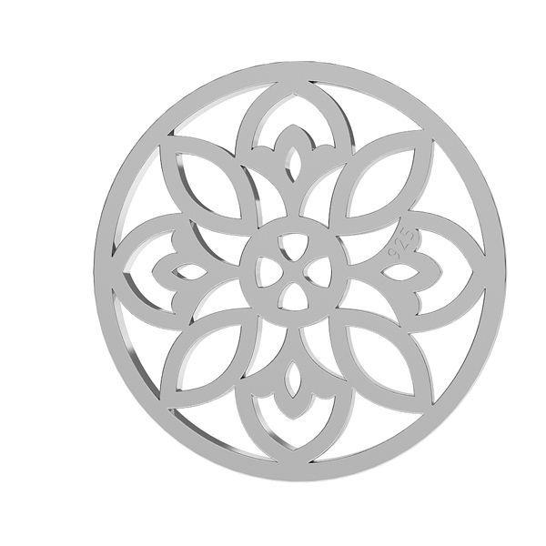 Openwork pendente argento 925, LKM-2039