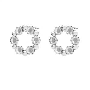 Orecchini il giro, argento 925, ODL-00704 KLS 14,2 mm (1088 PP 18)