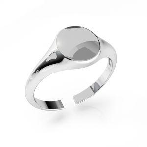 Anello con sigillo argento ODL-00735 7,5x19 mm