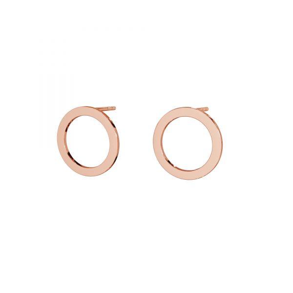 Orecchini a cerchio, argento 925, LK-2573 KLS - 0,50 13 mm