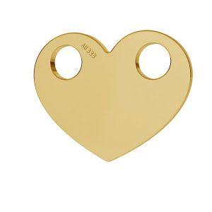 Cuore pendente*oro 333*LKZ8K-30007 - 0,30 9,4x12 mm