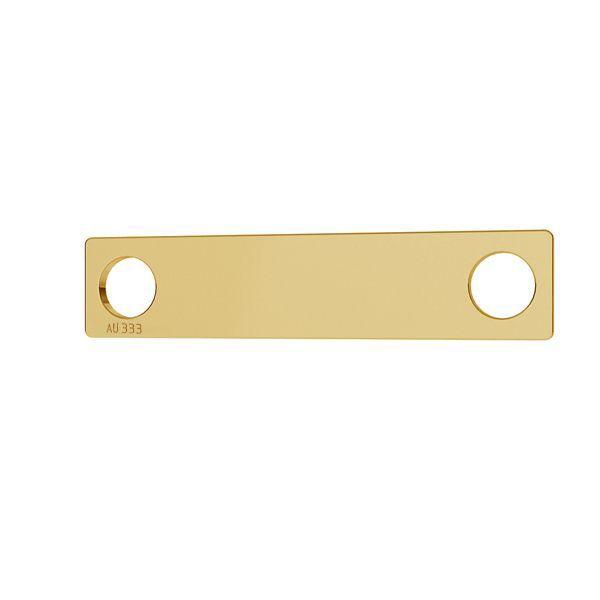 Rettangolo oro pendente*oro 333*LKZ8K-30008 - 0,30 5x23 mm