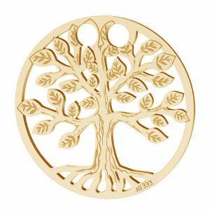 Albero della vita ciondolo*oro 333*LKZ8K-30017 - 0,30 19x19 mm