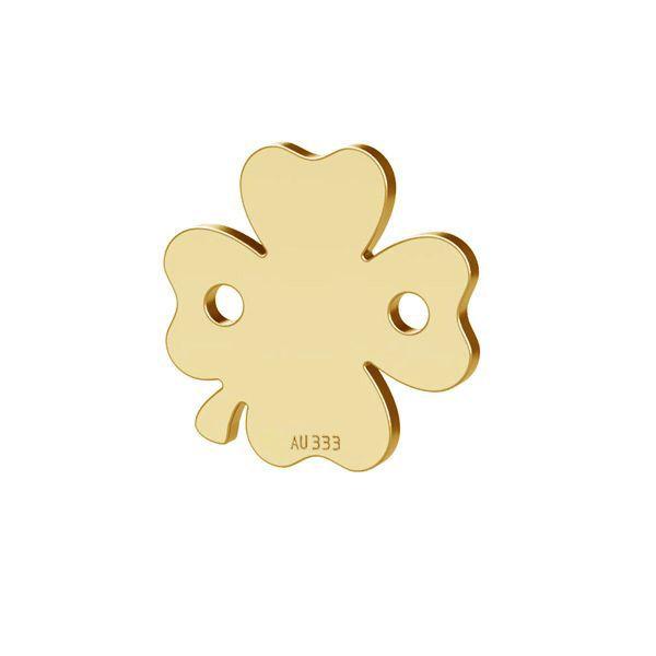 Trifoglio pendente*oro 333*LKZ8K-30023 - 0,30 10x10 mm
