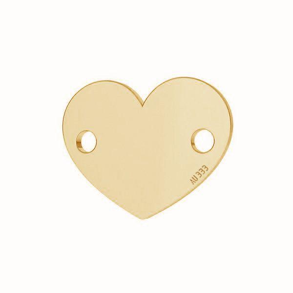 Cuore pendente*oro 333*LKZ-30029 - 0,30 6x7,5 mm
