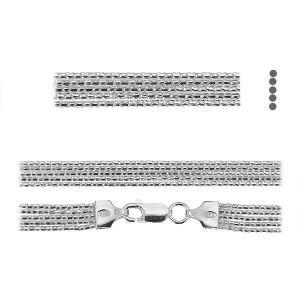 Catena coreana*argento 925*PLE CORD 1,2 2S (45 cm)