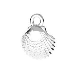 Conchiglia pendente ODL-00752 8,5x11 mm